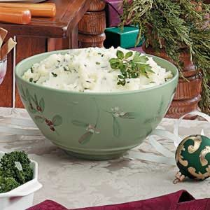Herb Mashed Potatoes Recipe