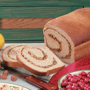 Hazelnut Swirl Bread Recipe