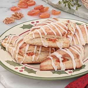 Fruit 'n' Nut Turnovers Recipe