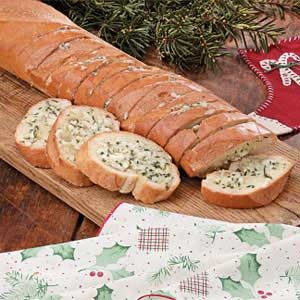 Blue Cheese Garlic Bread Recipe
