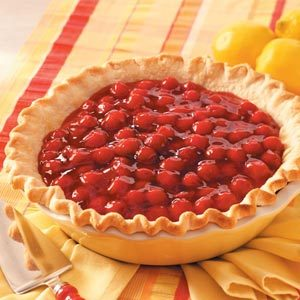 Cherry-Lemon Icebox Pie Recipe