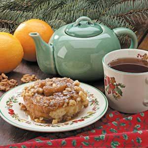 Maple-Nut Cinnamon Rolls Recipe