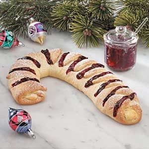 Holiday Cherry Cheese Danish Recipe
