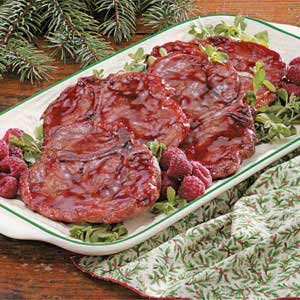 Raspberry Pork Chops Recipe