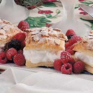 Almond Puff Pastries Recipe