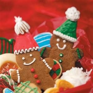 Gingerbread Cutout Cookies Recipe
