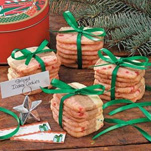 Striped Icebox Cookies Recipe