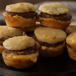 Johnsonville Breakfast Patty Sliders with Cheese
