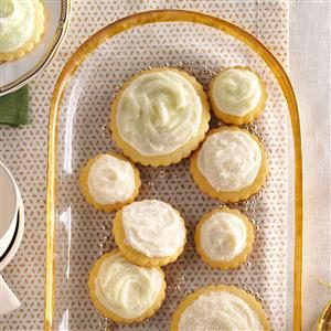Frosted Butter Cutout Cookies Recipe