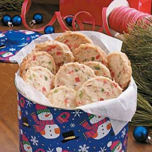 Jeweled Coconut Crisps Recipe