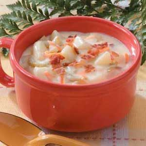Bacon Potato Chowder Recipe