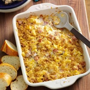 Pineapple Ham Casserole Recipe