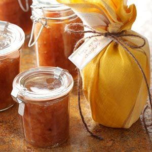 Spiced Pear Jam Recipe