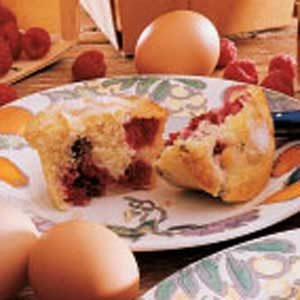 Easy Raspberry Muffins Recipe