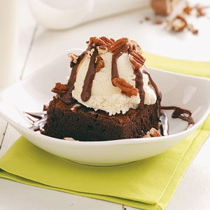 Brownie Sundaes Recipe