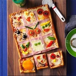 Make-a-Monster Pizza Recipe