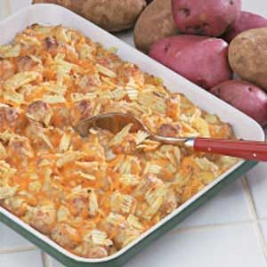 Cheddar Taters Recipe