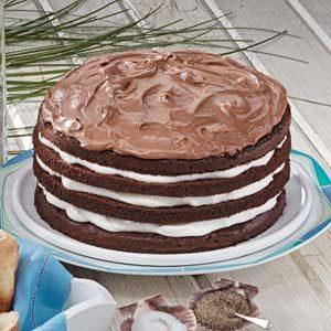 Chocolate Cream Torte Recipe