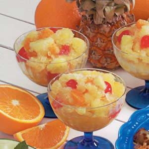Fruit Slush Cups Recipe