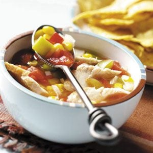 Slow Cooker Southwestern Chicken Soup Recipe