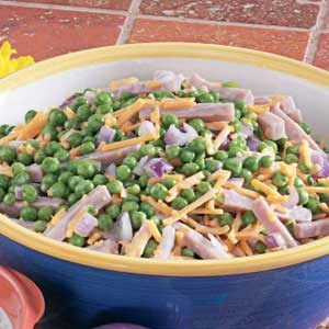 Ham and Pea Salad Recipe