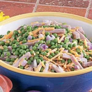 Ham and Pea Salad Recipe