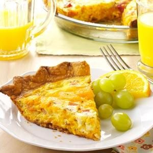 Ham 'n' Cheese Quiche