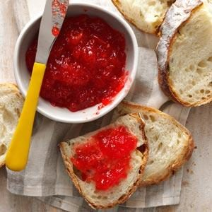 Quick Tomato-Strawberry Spread Recipe