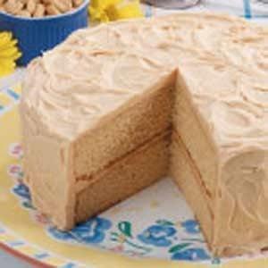 Peanut Butter Layer Cake Recipe