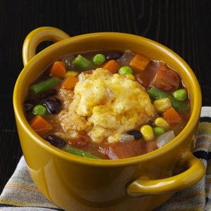 Tangy Bean Soup Recipe