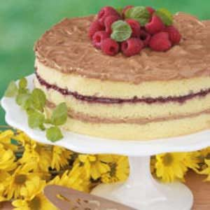 Raspberry Mocha Torte Recipe
