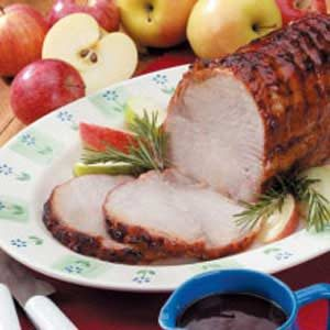 Pork Roast with Tangy Sauce Recipe
