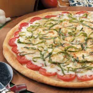 Roasted Garlic Tomato Pizza Recipe