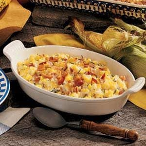 Corn and Bacon Casserole Recipe