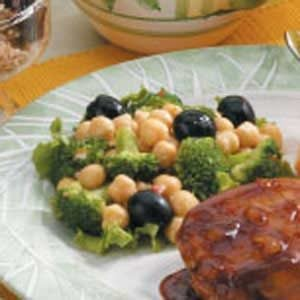 Broccoli Garbanzo Salad Recipe