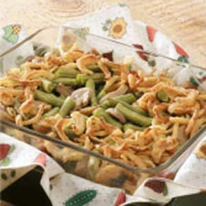 Mini Green Bean Casserole Recipe