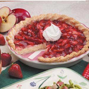 Strawberry Cream Cheese Pie Recipe photo by Taste of Home