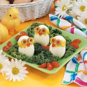 Cute Egg Chicks Recipe