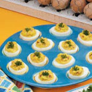 Zippy Deviled Eggs