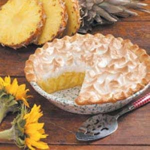 Pineapple Meringue Pie Recipe