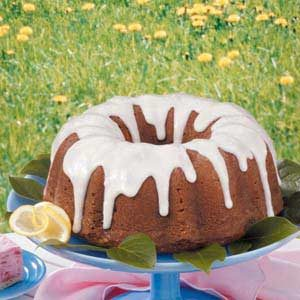 Lemon Lover's Pound Cake Recipe