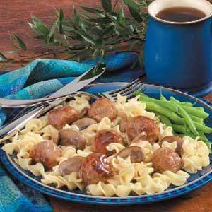 Venison Sausage Meatballs Recipe