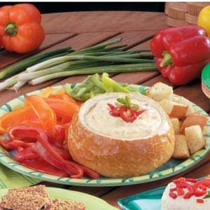 Bread Bowl Fondue