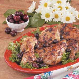 Chicken with Cherry Sauce Recipe