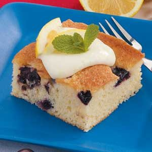 Lemon Cherry Cake Recipe