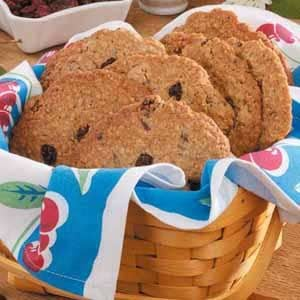 Giant Cherry Oatmeal Cookies