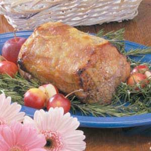 Applesauce Pork Loin Recipe