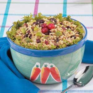 Wild Rice Barley Salad Recipe