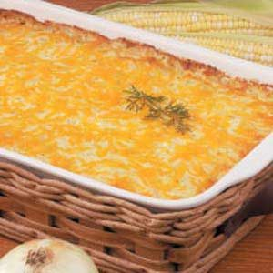 Sweet Onion Corn Bake Recipe