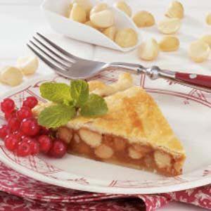 Macadamia Caramel Tart Recipe